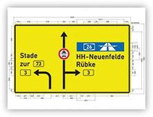 Straßen- Verkehrsplanung / Beispielhafte Projekte: Bundesautobahn 14