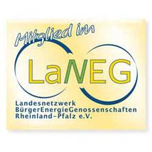 Wir sind Mitglied im Landesnetzwerk BürgerEnergieGenossenschaften Rheinland-Pfalz e.V.