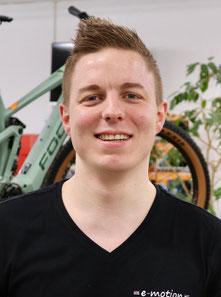 Zweiradmechatroniker Carsten Schwentke