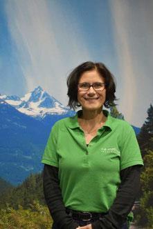Nicole aus der Buchhaltung des Lastenfahrrad-Zentrums Bad Kreuznach