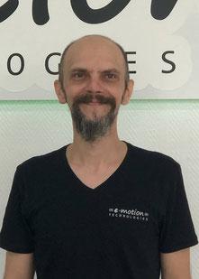 Christian Katzenski - Servicemitarbeiter im Lastenfahrrad-Zentrum Oberhausen
