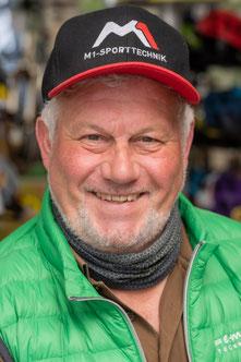 Gerd aus dem Lastenfahrrad-Zentrum Bad Kreuznach