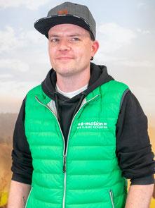 Chris aus dem Lastenfahrrad-Zentrum Fuchstal