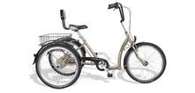 Pfau Tec Comfort Dreirad und Elektro-Dreirad für Erwachsene - Shopping-Dreirad 2017
