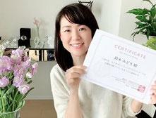 リンパケアリストコース卒業生 鈴木さん