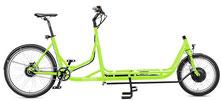 Radkutsche Rapid Cargo e-Bike / Lastenvelo mit Aufbaute Cargo Tablett