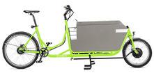 Radkutsche Rapid Cargo e-Bike / Lastenvelo mit Aufbaute Messenger-Box