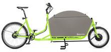 Radkutsche Rapid Cargo e-Bike / Lastenvelo mit Aufbaute Turtlebox