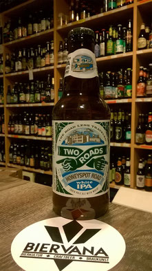 Craft-Bier aus USA: Two Roads White IPA Honeyspot Road