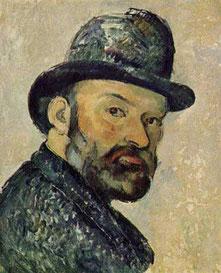Selbstbildnis von Cézanne