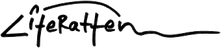 LiteRatten Logo, Entwurf: Heidemarie Köhler und LiteRatten