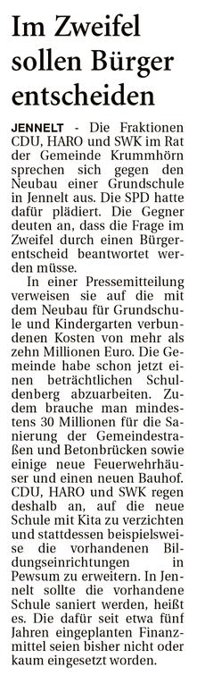 Ostfriesenzeitung 20.02.2020