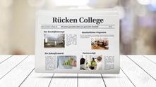 Rücken College Präsentation: Das Rücken College Geschäftskonzept