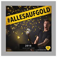 CD Album Alles auf Gold BVG Venterra Pop Punk Band Weil wir dich lieben