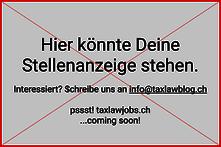 taxlawjobs, taxlawblog, inserate, stellen, anzeige