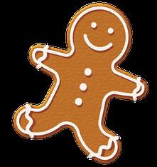 Lustige Gedichte zu Weihnachten: Der Lebkuchen