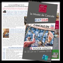 Communication exposition 14/18 & Roger Vercel - Musée et Ville de Cancale