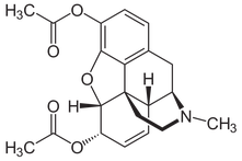 Heroin chemical formula
