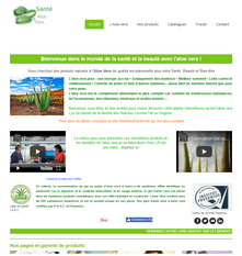 Site produits d'un partenaire LR