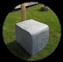 Skulptur aus Naturstein