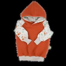 Sweater Hoodie Pullover Biobaumwollfleece Wollfleece bio