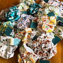Neuware Doodush Newborn und One-Siez Überhosen, Pockets und Wollüberhosen