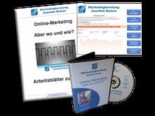 Online Marketing DVD Kurs mit Arbeitsheft und Keyword Tool