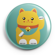 MANEKI NEKO LUCKY CAT_BADGES MAGNETS PETITS MIROIRS