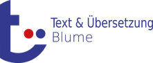 Logo Text-und-Uebersetzung-Blume