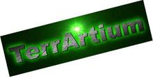 Terrartium Schrift