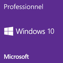 Microsoft Windows 10 Professionnel disponible ici.