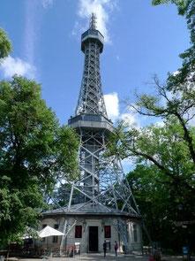 Aussichtsturm Petrin in Prag