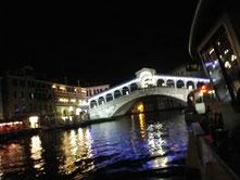 ヴェネツィアの中心 リアルト橋
