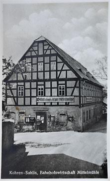 Mittelmühle Kohren-Sahlis