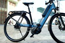 e-Motion E-Bike Welt Frankfurt tankt Öko-Strom