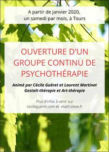 groupe de psychotherapie a Tours (37) avec laurent martinet - annuaire de therapeutes via energetica