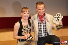 Carolina Kostner & Roland Fischnaller