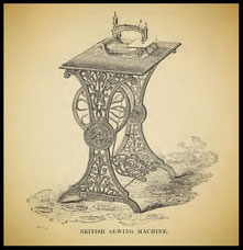 1862  The British sewing machine