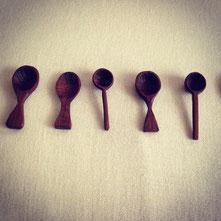 キトヒト kitohito 木工 小匙 小さいスプーン