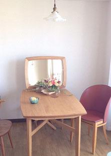 キトヒト kitohito 木工 家具 ダイニングテーブル ミラーフレーム