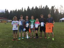Baiersbronner Teilnehmer beim Agenbacher Duathlon 2017
