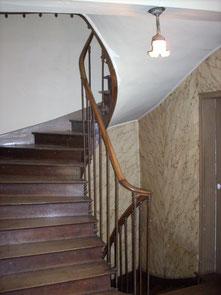 L'escalier source de souffrance psychologique