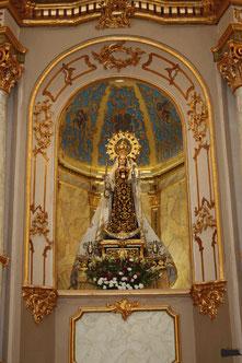 Altar Virgen del Carmen