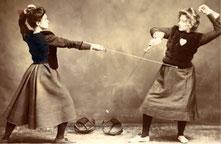 Fechtkunst und Frauen