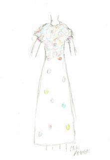 着てみたいドレスのイメージデザイン