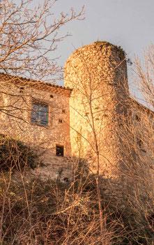 la tour pleine de l'actuelle mairie