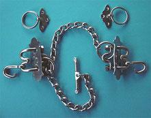 Nr. 60 Kummetbeschlag Edelstahl  von Alois Achatz Pferdeartikel / Horse Products