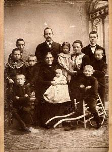Familie Johann Friedrich Kerschinsky 1903