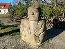 Arster Steinsetzer Skulptur  Kunst im öffentlichen Raum  Arster Heerstr. 30  28279 Bremen  Bremen Obervieland