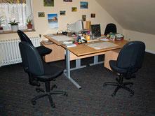 Das Büro im Kerschensteinerweg 3. - Foto: Kathy Büscher